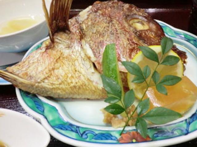 鯛かぶと焼き定食